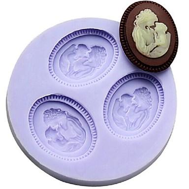 Bakeware araçları Plastik Kek Pasta Kalıpları 1pc