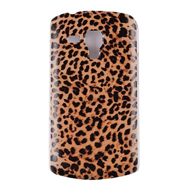 sexy leopard galben capacul din spate pentru Samsung Galaxy trend Duos s7562 s7560