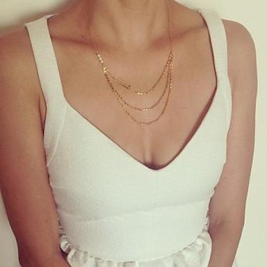 Dame Coliere Vintage Κολιέ με Πέρλες Perle Imitație de Perle Aliaj La modă stil minimalist Bijuterii Zilnic 1 buc