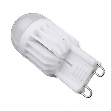 5W G9 Becuri LED Corn T 2 led-uri COB Intensitate Luminoasă Reglabilă Alb Cald 400-450lm 2800-3200K AC 220-240V
