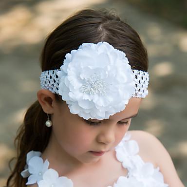 Vrouwen zijde Helm-Bruiloft Speciale gelegenheden Bloemen