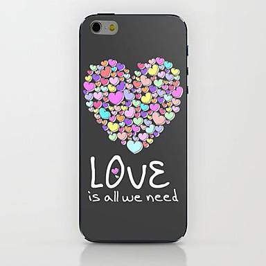 kleur van de liefde patroon harde case voor de iPhone 6