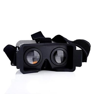 3D Gözlükler Plastik Transparan VR Sanal Gerçek Gözlük Yuvarlak