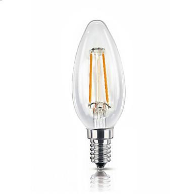 umei ™ 1pc led bulb 1.8w e14 2300 k led becuri cu filament ac 220-240v v