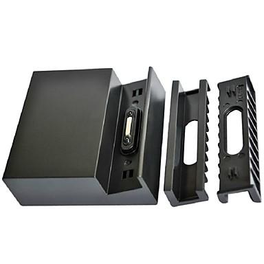zwart opladen dock stand pod desktop opladerdk31 voor Sony L39h Xperia Z1 C6902 voor iPhone 8 7 Samsung Galaxy S8 S7