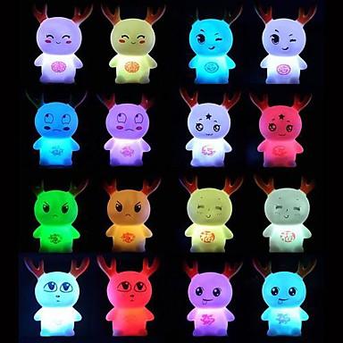 coway bebê dragão mágico colorido luz noturna led (cores sortidas)