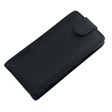 hoesje Voor Nokia Nokia hoesje Flip Volledig hoesje Effen Kleur Hard PU-nahka voor