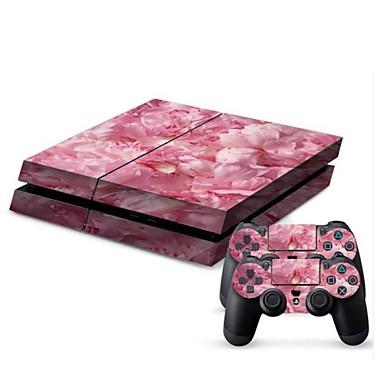 consola PS4 cobertura etiqueta protetora da pele controlador de pele adesivo