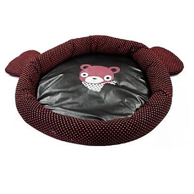 رخيصةأون مستلزمات وأغراض العناية بالكلاب-جميل شكل دب اللون البني السرير عش للحيوانات الاليفة الكلاب القطط (أحجام متنوعة)