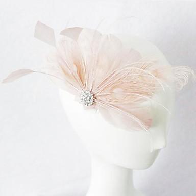 Vrouwen Veren Helm-Bruiloft Speciale gelegenheden Fascinators