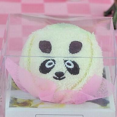 γενεθλίων panda δώρο σχήμα ινών δημιουργική πετσέτα (τυχαία χρώμα)