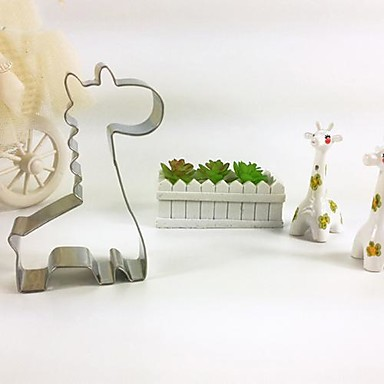 Giraffe Ausstechformen Keks Edelstahl Kuchenform diy Backen Werkzeug