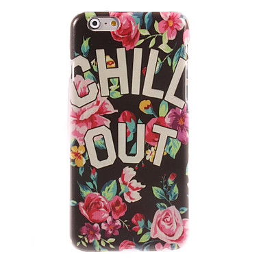 CHILL OUT Design Hard Case for iPhone 6 Plus