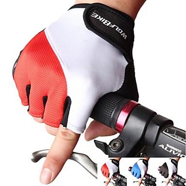 West biking Γάντια για Δραστηριότητες/ Αθλήματα Γάντια ποδηλασίας Αντιανεμικό Υπεριώδης Αντίσταση Αναπνέει Ανθεκτικό στη φθορά