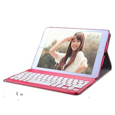 para capa capa caso cor sólida couro para teclados ipad