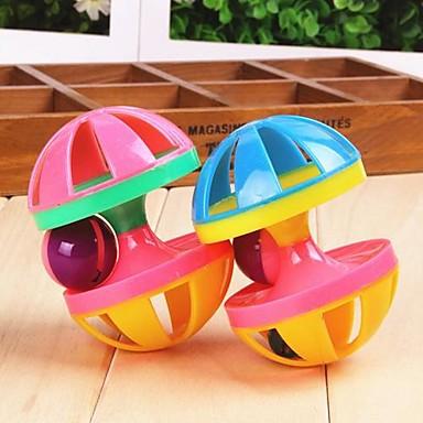 Interactiv Jucării chițcăitoare Halteră Sonerie Plastic Pentru Jucărie Pisică Jucării Cățel