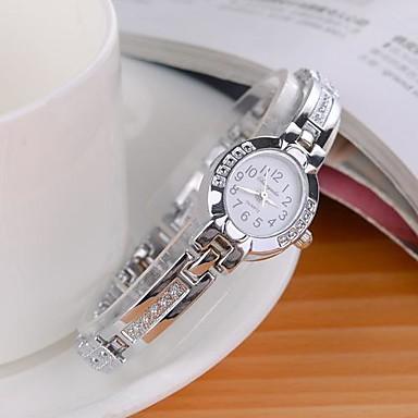 Pentru femei Ceas Elegant  Ceas La Modă Ceas de Mână Quartz imitație de diamant Aliaj Bandă Charm Sclipici Argint