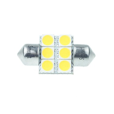Festoon Mașină Alb Cald 3W LED SMD LED de Înaltă Performanță 3000-3500Lumină marker laterală Lumină Uşă Lumini de citit Lumini pentru