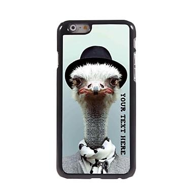 gepersonaliseerde telefoon case - struisvogelontwerp metalen behuizing voor de iPhone 6