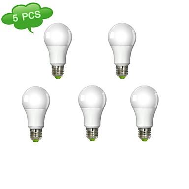 980 lm E26/E27 Lâmpadas de Filamento de LED A60(A19) 1 leds COB Branco Quente AC 100-240V