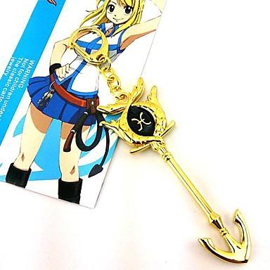 Schmuck Inspiriert von Fairy Tail Cosplay Anime Cosplay Accessoires Halsketten Aleación Damen heiß Halloween Kostüme