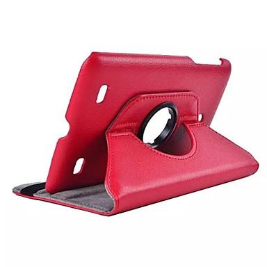 dengpin® couro pu 360 graus caso tampa do suporte tampa rotativa para lg g bloco 7.0 v400 7 '' tablet polegadas (cores sortidas)
