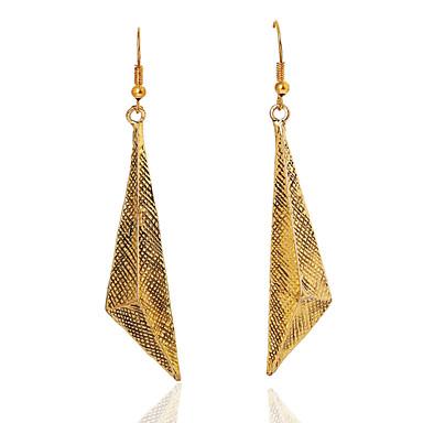 Γυναικεία Κρεμαστά Σκουλαρίκια Εξατομικευόμενο Χρυσό Geometric Shape Κοσμήματα