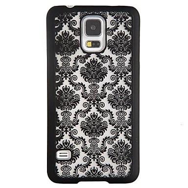 Maska Pentru Samsung Galaxy Samsung Galaxy Note Anti Șoc Model Capac Spate dantelă de imprimare PC pentru Note 4