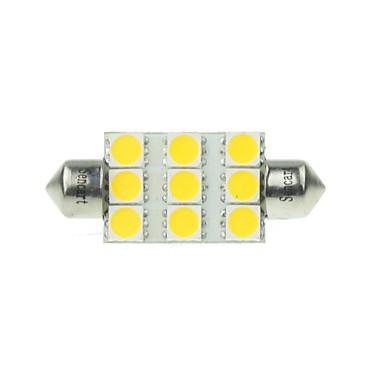 Festoon Mașină Alb 3W LED SMD 3000-3500 Lumini de citit Lumini pentru numerele de înmatriculare Lumină marker laterală Lumină Uşă