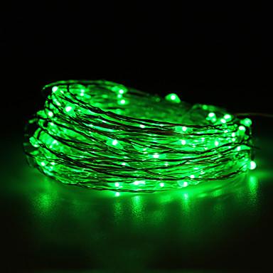 impermeáveis 10W 100x0603smd cobre macio luzes verdes (dc 12v / 1000 centímetros)