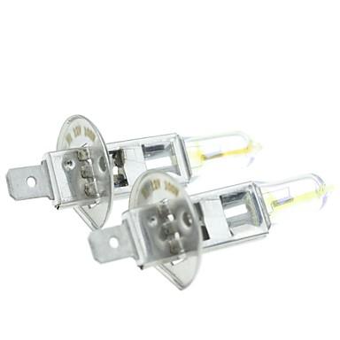 h1 P14.5s 100W für Autoscheinwerfer überzog gelbe Scheinwerfer Nebelscheinwerfer 12v (1 Paar Glühlampen)