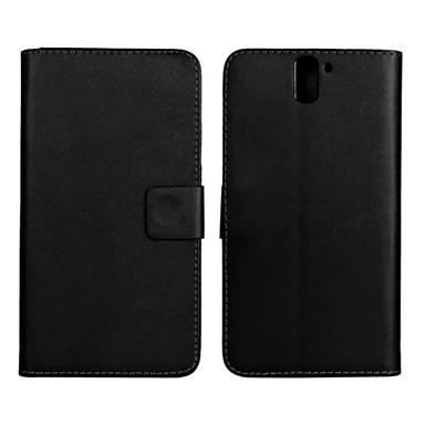 hoesje Voor OnePlus OnePlus hoesje Kaarthouder Portemonnee met standaard Flip Volledig hoesje Effen Kleur Hard PU-nahka voor