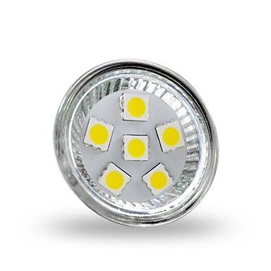 4 W 350 lm GU4(MR11) LED Spotlight MR11 6 LED Beads SMD 5050 Decorative Cold White 12 V / RoHS