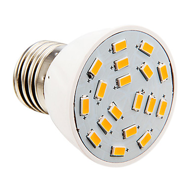E26/E27 4 W 18 SMD 5730 280 LM 2500-3500 K Warm wit Kaarslampen AC 110-130 V