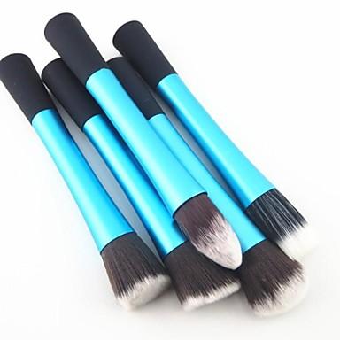 5 Stück Makeup Bürsten Professional Bürsten-Satz- Nylon Pinsel Klassisch / Mittelgroße Pinsel