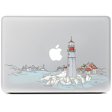 o adesivo de pele decorativo cidade para macbook air / pro / Pro com tela retina