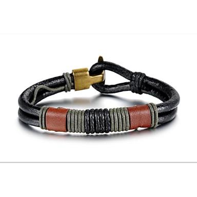 Herrn Lederarmbänder - Leder Armbänder Für Weihnachts Geschenke Hochzeit Party