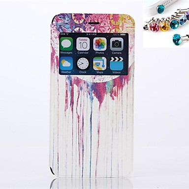 Capinha Para Apple iPhone 6 Plus Corujas Corujas Macia TPU para Apple
