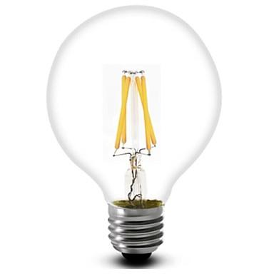 ON E26/E27 3.5 W 4 COB 380 LM Warm wit G80 Decoratief LED-gloeilampen AC 220-240 V