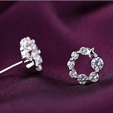 Kadın's Kristal - Som Gümüş Klasik, Moda Uyumluluk Parti / Günlük