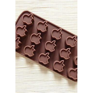 15 holes cake appelvorm schimmel ijs gelei chocoladevorm
