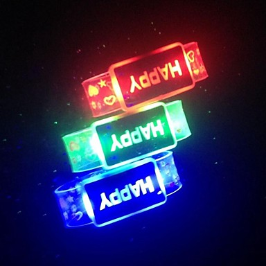 decoratie licht licht geleid ketting batterij waterdichte willekeurige kleur