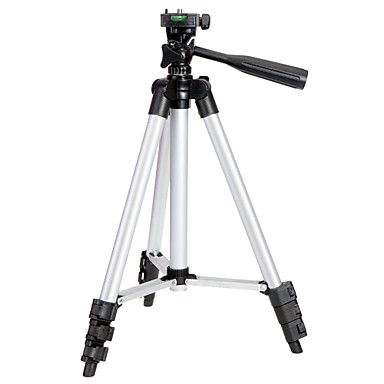カメラ用アルミニウム三脚 (足長 95cm)+C69