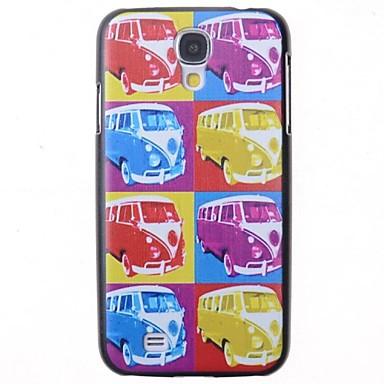 μοτίβο πίσω κάλυμμα λεωφορείο κινουμένων σχεδίων για i9500 Samsung Galaxy S4