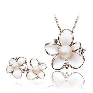 Κοσμήματα-Κολιέ / Cercei(Κρύσταλλο / Κράμα / Απομίμηση Μαργαριταριού / Στρας)Γάμου / Πάρτι / Καθημερινά / Causal / Αθλητικά Δώρα Γάμου