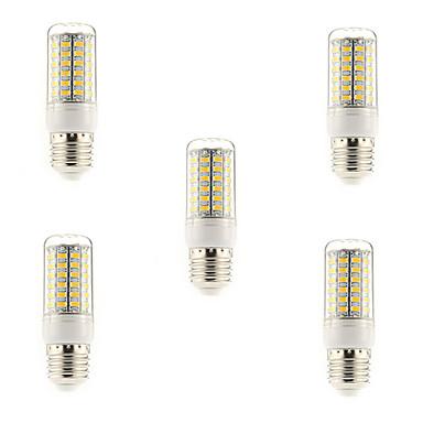 5W 450 lm E14 G9 E26/E27 LED-maïslampen T 69 leds SMD 5730 Warm wit Koel wit AC 220-240V