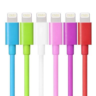 mfi relâmpago certificado de 8 pinos de sincronização de dados e carregador cabo usb para iphone 7 6s 6plus se 5s cabo de 5 ipad (100cm)