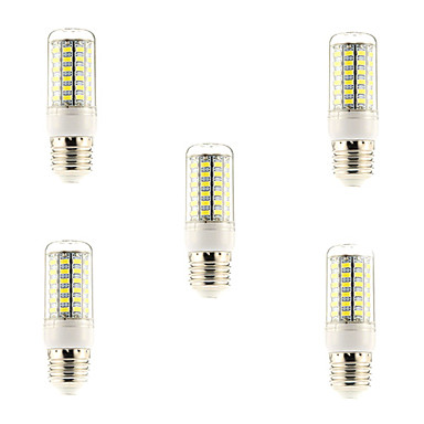 BRELONG® 5 Stück 5 W 600 lm E26 / E27 LED Mais-Birnen 69 LED-Perlen SMD 5730 Natürliches Weiß 220-240 V