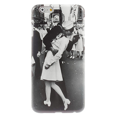 hoesje Voor Apple Patroon Achterkant Landschap Hard PC voor iPhone 6s Plus iPhone 6s iPhone 6 Plus iPhone 6