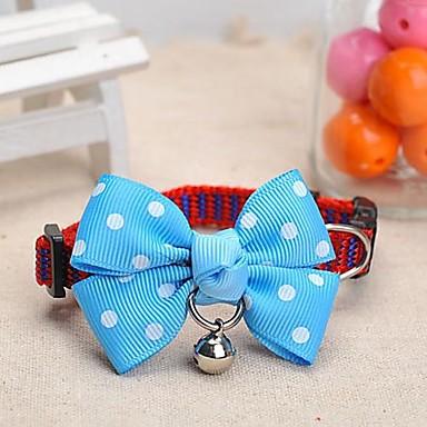 Hund Halsbänder Regolabile / Einziehbar Nylon Weiß / blau
